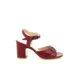 Benoite c damesschoenen sandaal rood 194867