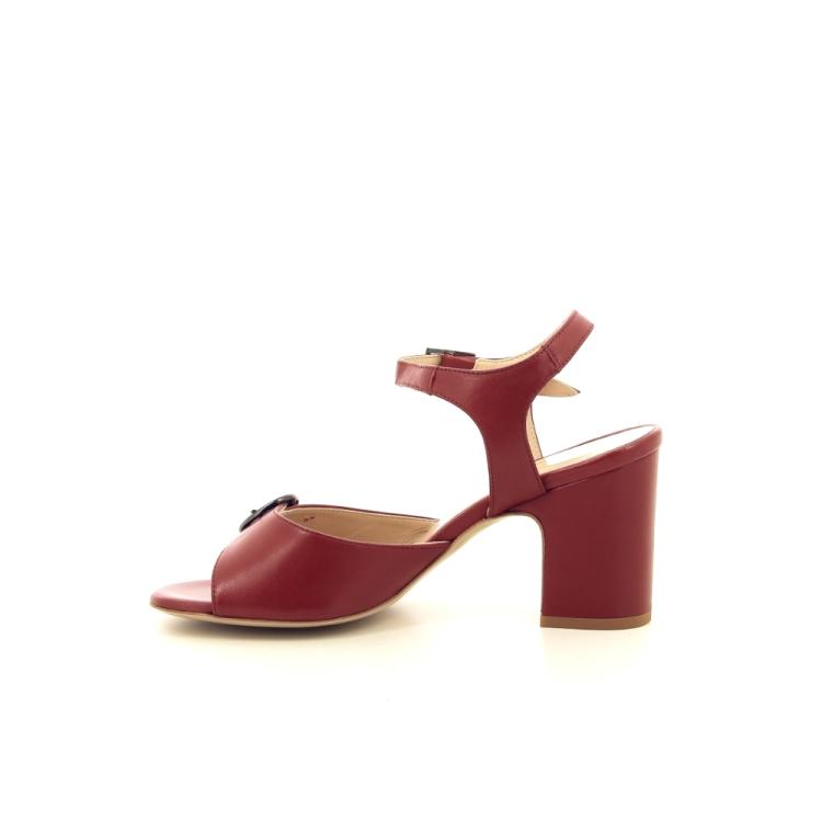 Benoite c damesschoenen sandaal steenrood 194867