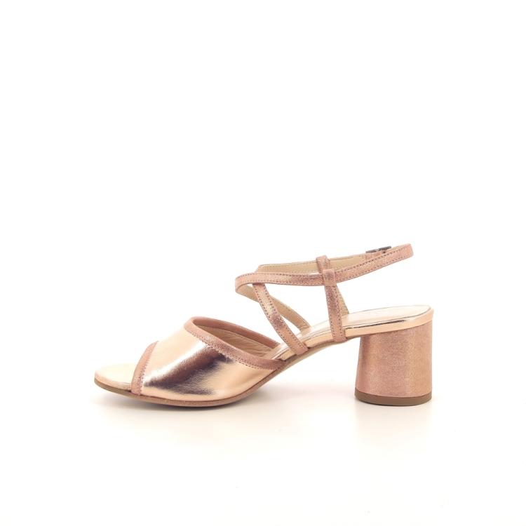 Benoite c damesschoenen sandaal zalmrose 194852