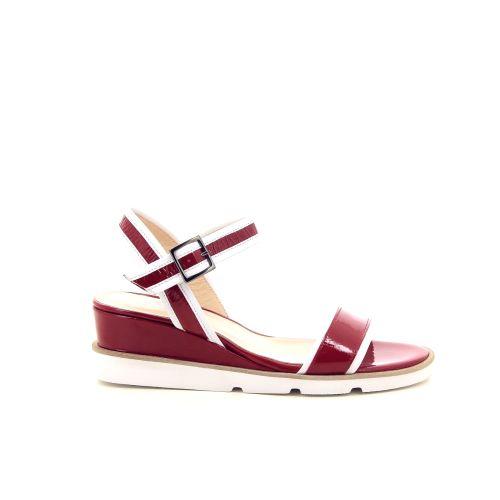 Benoite c solden sandaal rood 194842