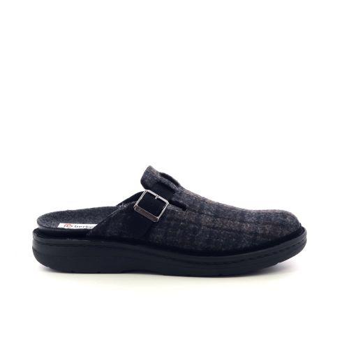 Berkemann  pantoffel d.bruin 216695