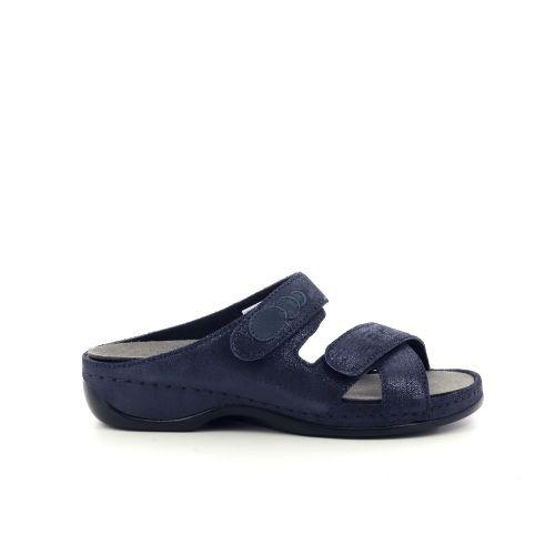 Berkemann damesschoenen sleffer donkerblauw 212327
