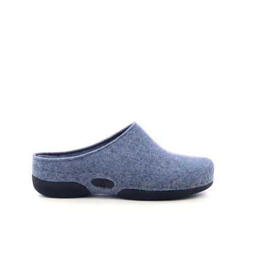 Berkemann damesschoenen pantoffel jeansblauw 216694