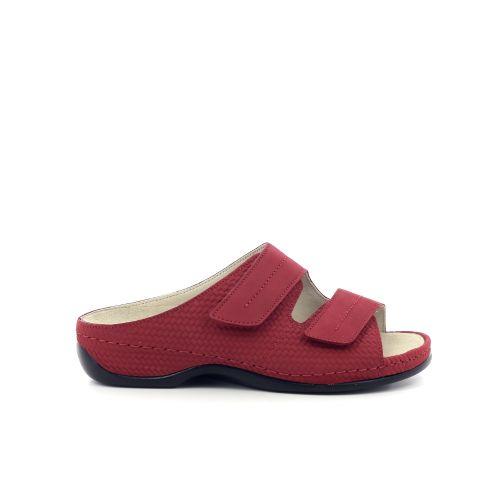 Berkemann damesschoenen sleffer rood 203353