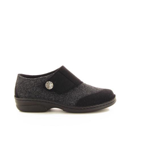 Berkemann damesschoenen pantoffel zwart 17770