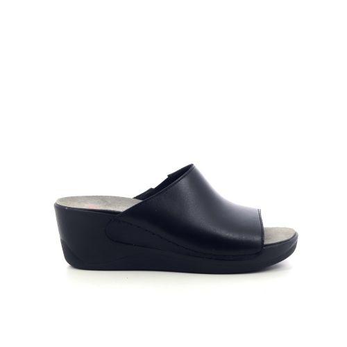 Berkemann damesschoenen sleffer zwart 212323
