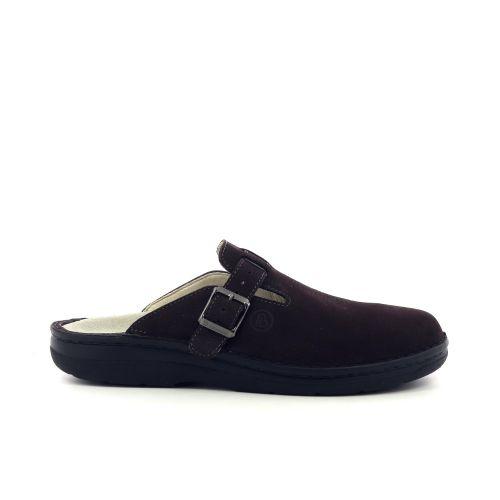 Berkemann herenschoenen pantoffel d.bruin 203358
