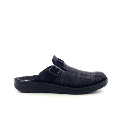 Berkemann herenschoenen pantoffel d.bruin 208505