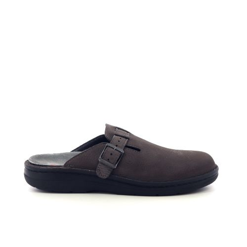 Berkemann herenschoenen pantoffel d.bruin 216696