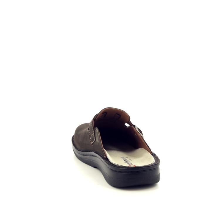 Berkemann herenschoenen pantoffel bruin 188122