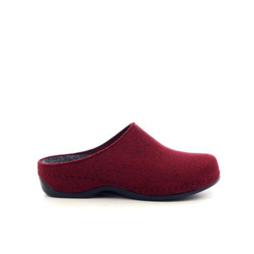 Berkemann  pantoffel rood 208504