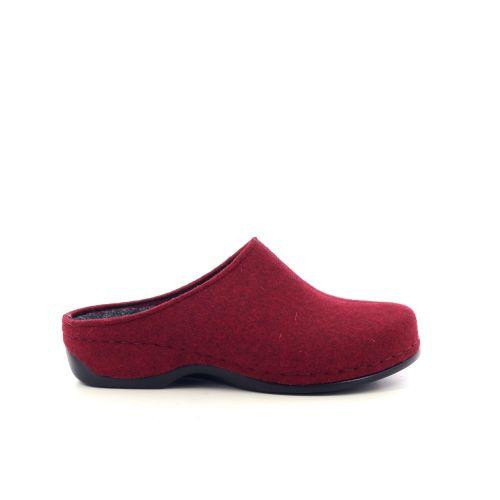 Berkemann  pantoffel rood 216692