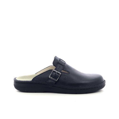 Berkemann  pantoffel zwart 216699