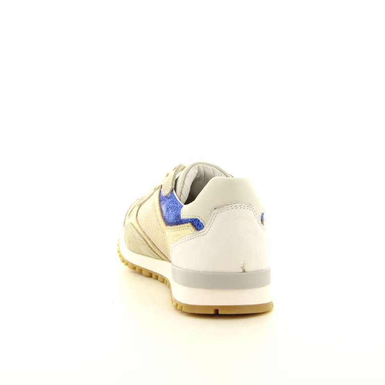 Bi key kinderschoenen veterschoen goud 10909