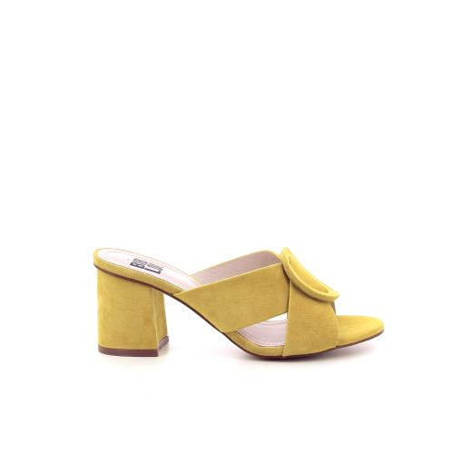 Bibi lou damesschoenen muiltje geel 195037