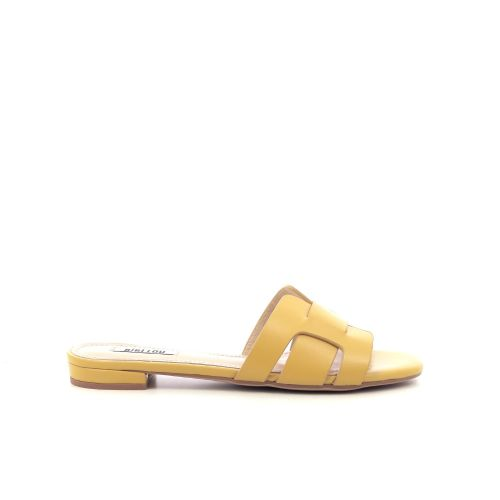 Bibi lou damesschoenen sleffer geel 205570