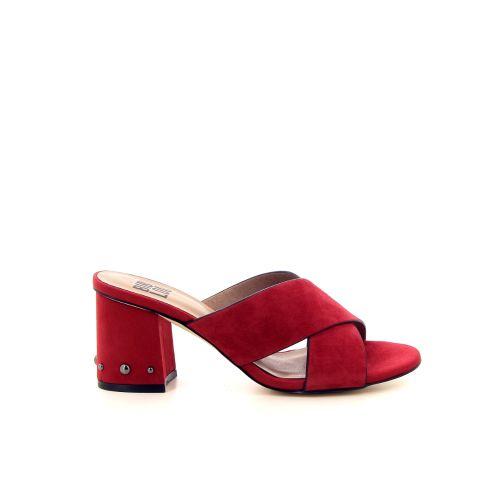 Bibi lou damesschoenen muiltje rood 183154