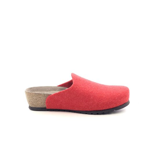 Bioline damesschoenen pantoffel grijs 201105