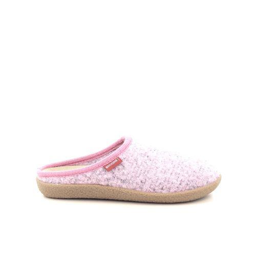 Bioline damesschoenen pantoffel rose 201103