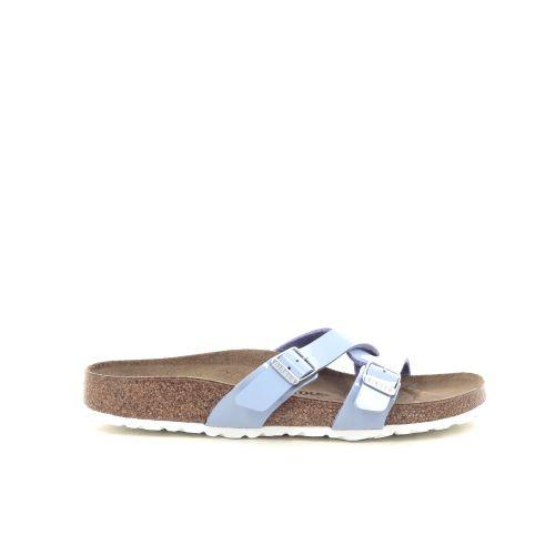 Birkenstock damesschoenen sleffer lichtblauw 212788