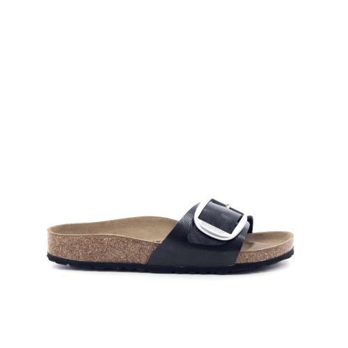 Birkenstock damesschoenen sleffer zwart 202990