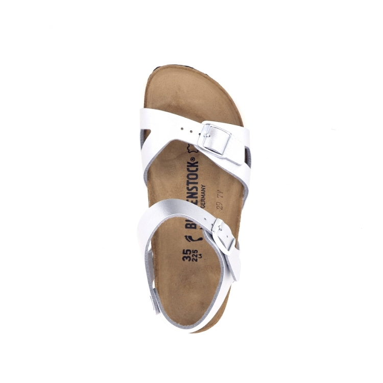 Birkenstock kinderschoenen sandaal zilver 192281