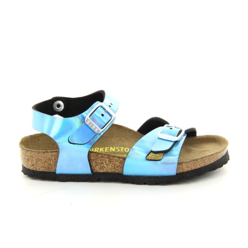 Birkenstock solden sandaal hemelsblauw 87500