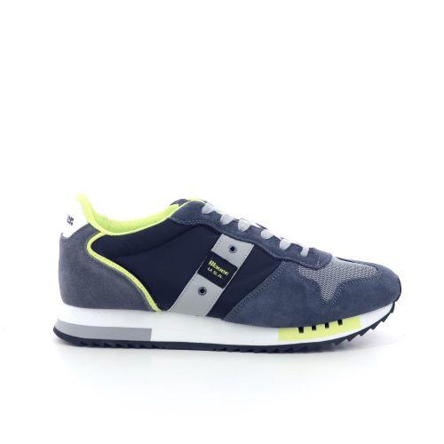 Blauer usa herenschoenen sneaker d.beige 203625