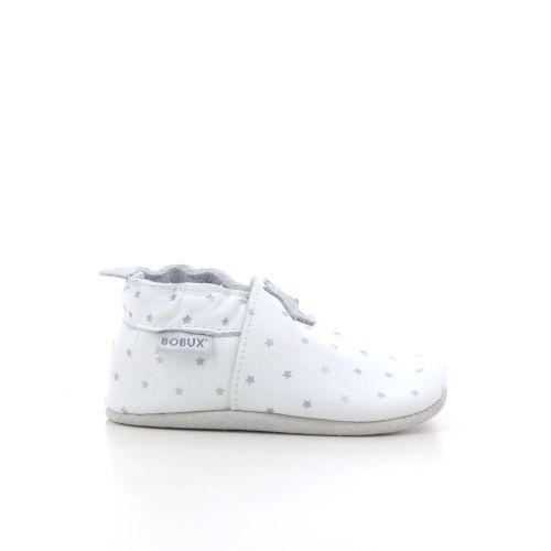 Bobux kinderschoenen pantoffel wit 207583