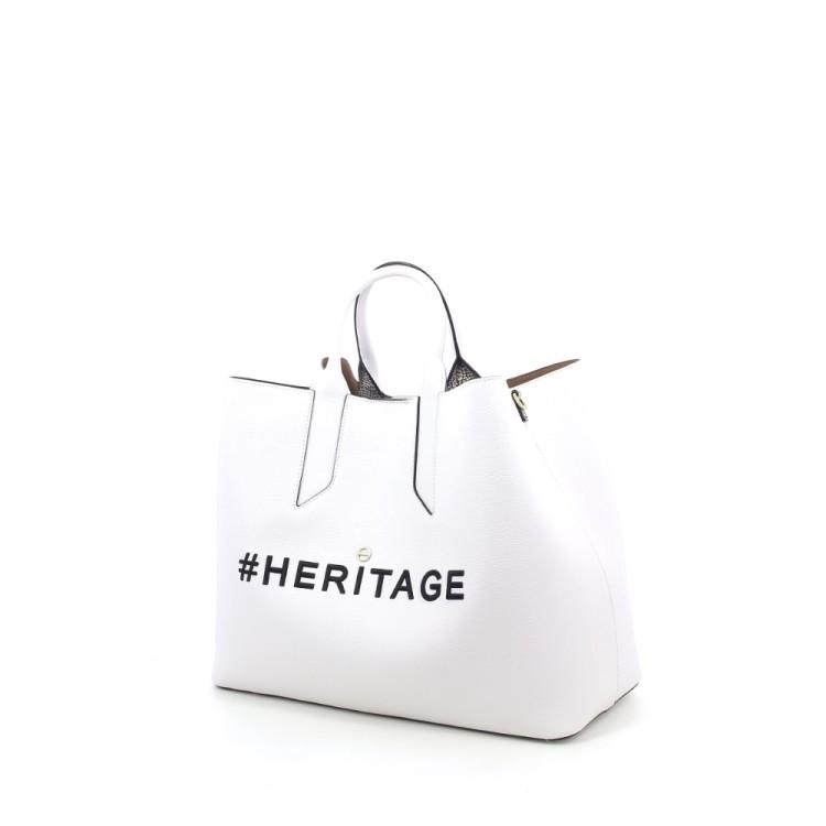 Borbonese tassen handtas wit 206978