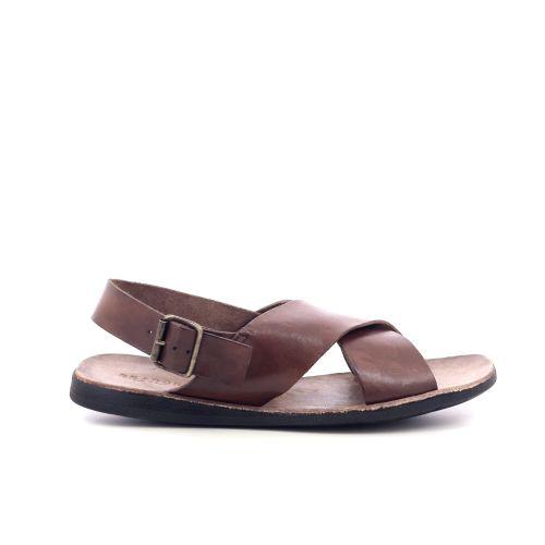 Brador herenschoenen sandaal cognac 212613