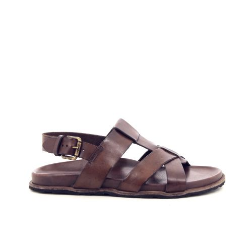 Brador herenschoenen sandaal d.bruin 168949