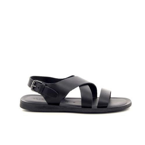 Brador herenschoenen sandaal zwart 192473