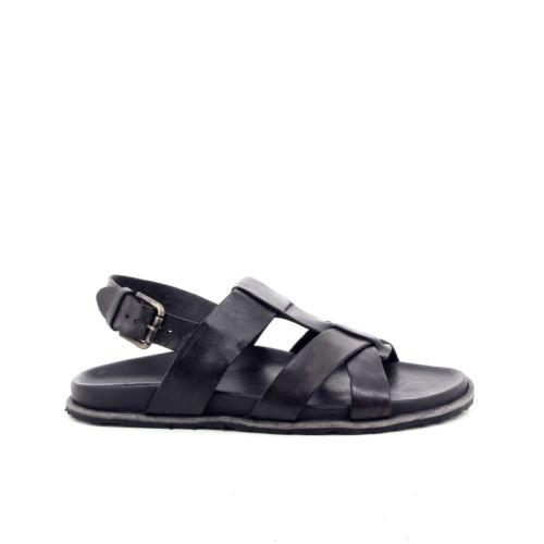 Brador solden sandaal d.bruin 168949
