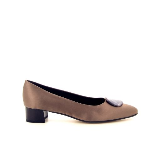Brunate damesschoenen pump d.taupe 183962