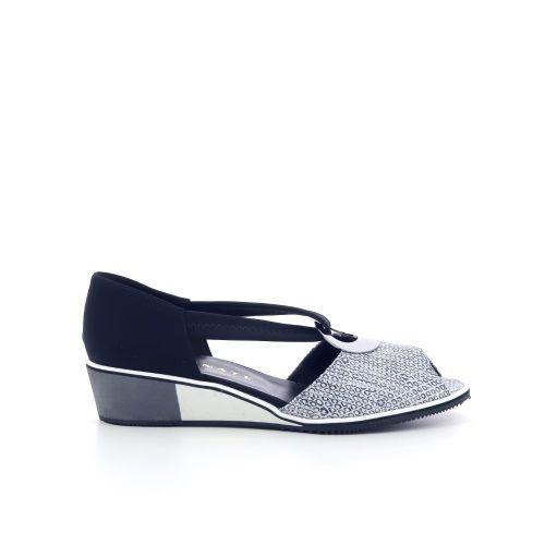 Brunate damesschoenen sandaal donkerblauw 206252