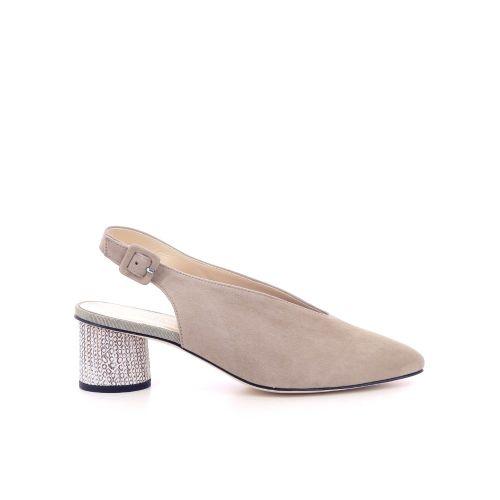 Brunate damesschoenen sandaal naturel 206251