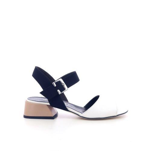 Brunate damesschoenen sandaal wit 214270