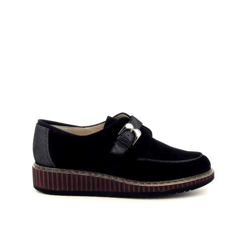 Brunate damesschoenen mocassin zwart 200533