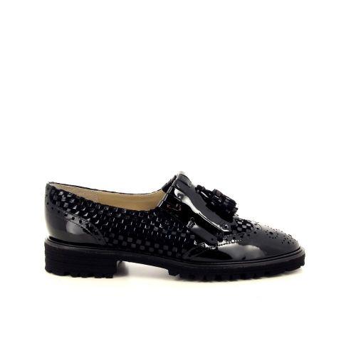 Brunate damesschoenen mocassin zwart 200535