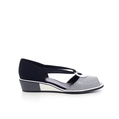 Brunate damesschoenen sandaal zwart 214272