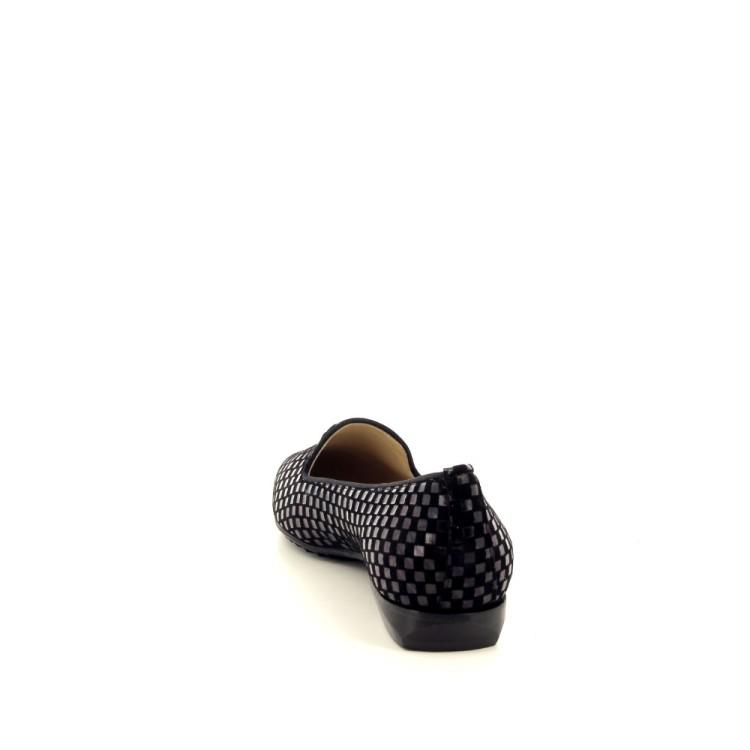 Brunate damesschoenen mocassin zwart 200526
