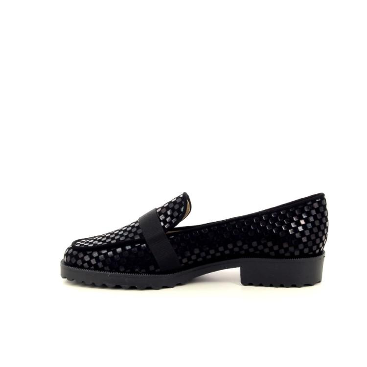 Brunate damesschoenen mocassin zwart 200528