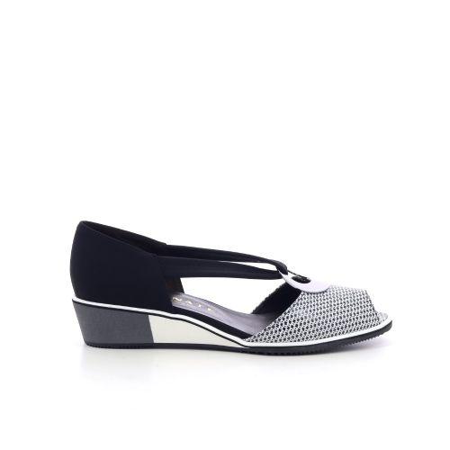Brunate  sandaal zwart 214272