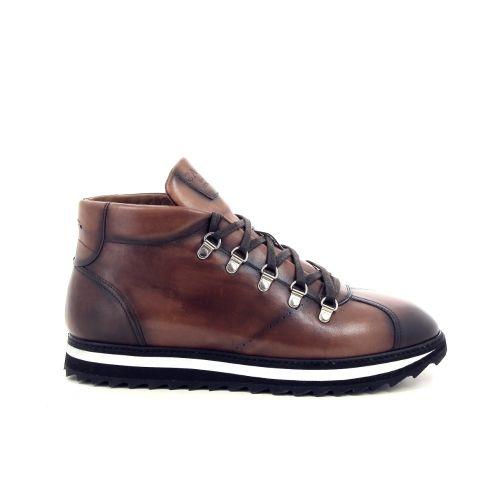 Calce herenschoenen boots cognac 188656