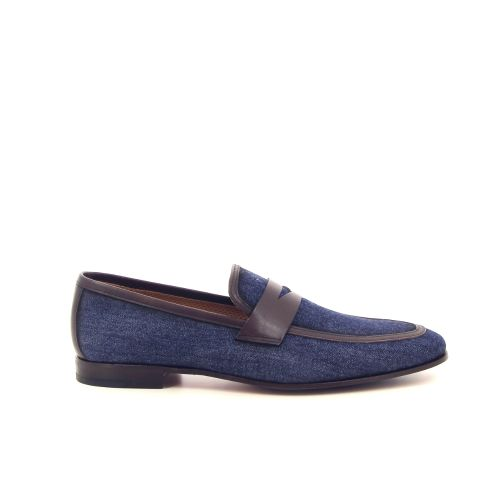 Calce herenschoenen mocassin jeansblauw 185004