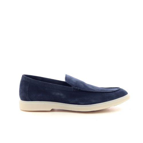 Calce herenschoenen mocassin jeansblauw 215114