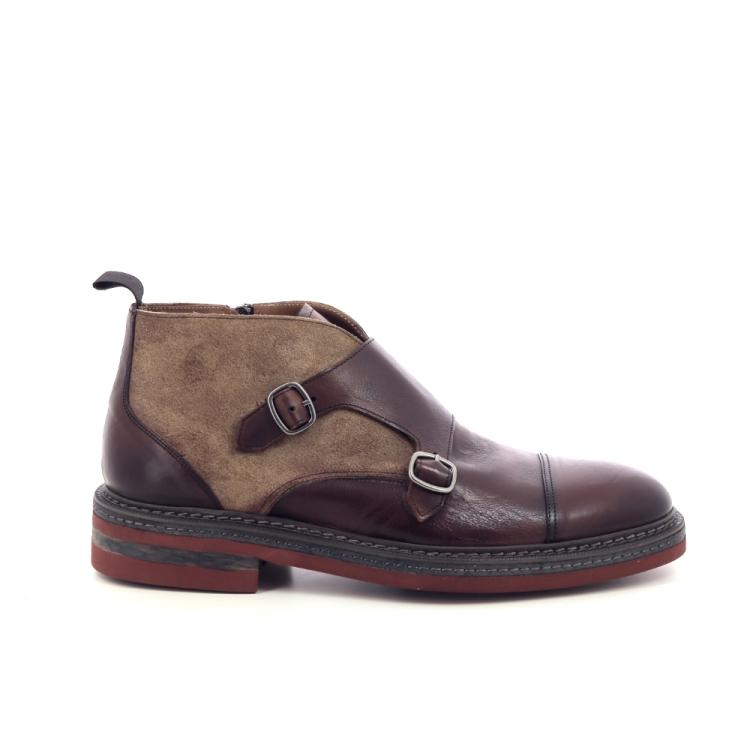 Calce herenschoenen boots cognac 199332