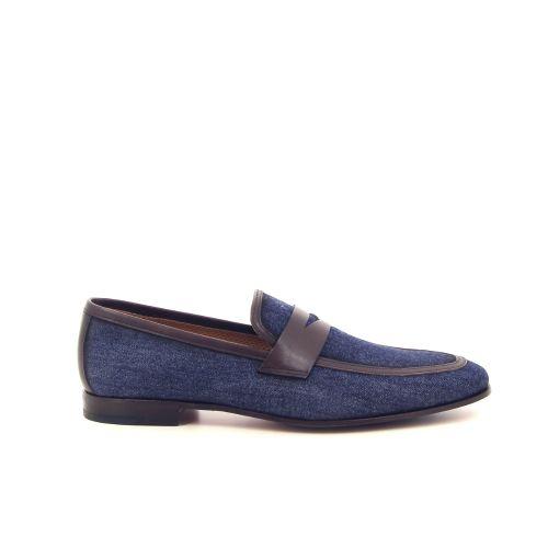Calce  mocassin jeansblauw 185004