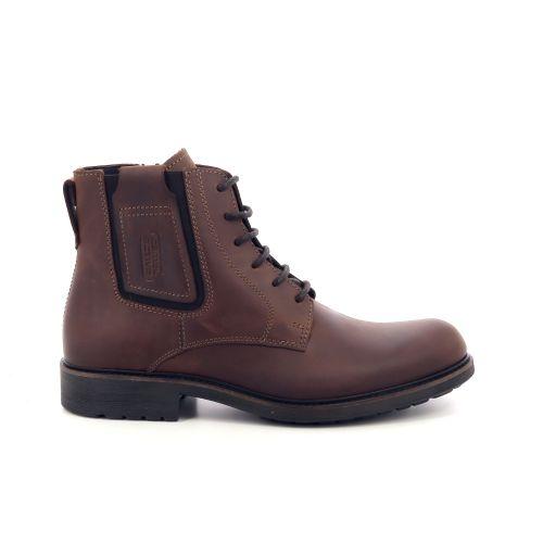 Camel active herenschoenen boots cognac 199455